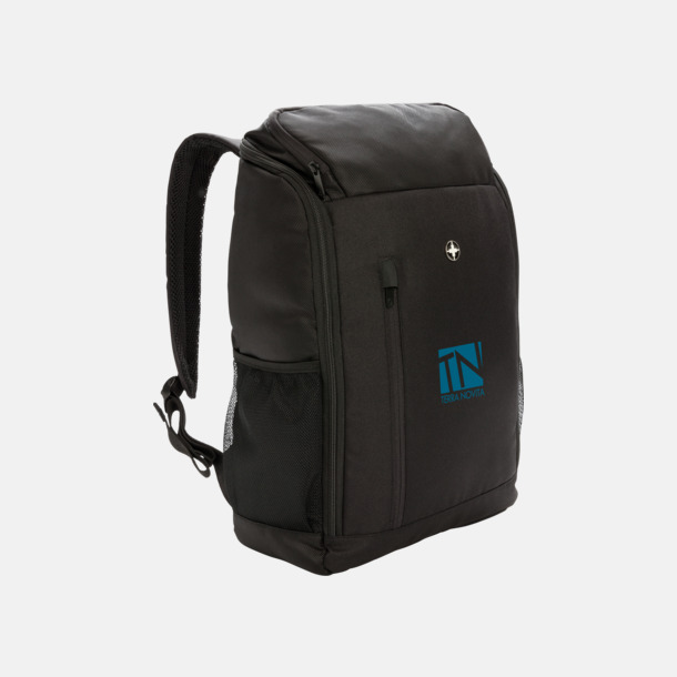 Med reklamlogo Laptopryggsäck med RFID-skydd med reklamtryck