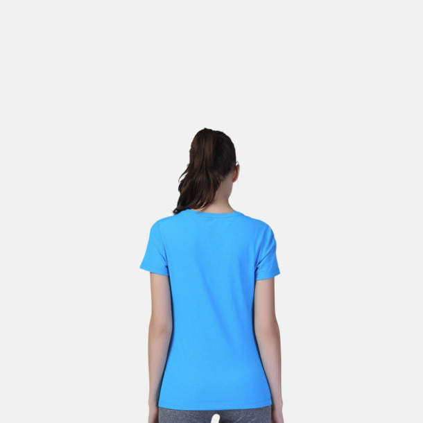 Fitness t-shirts med reklamtryck