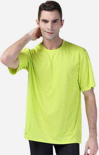 Snabbtorkande funktions t-shirts med reklamtryck