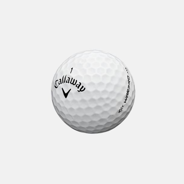 Vit Billiga Callaway-logobollar med reklamtryck