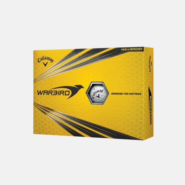 Kartong (vit boll) Billiga Callaway-logobollar med reklamtryck