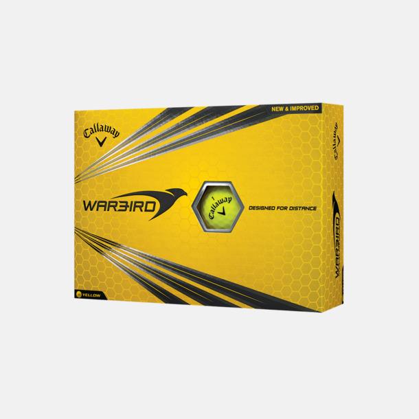 Kartong (gul boll) Billiga Callaway-logobollar med reklamtryck