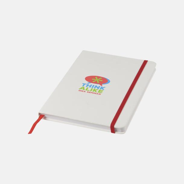 Tampotryck A5-böcker med kontrasterande färger med reklamtryck