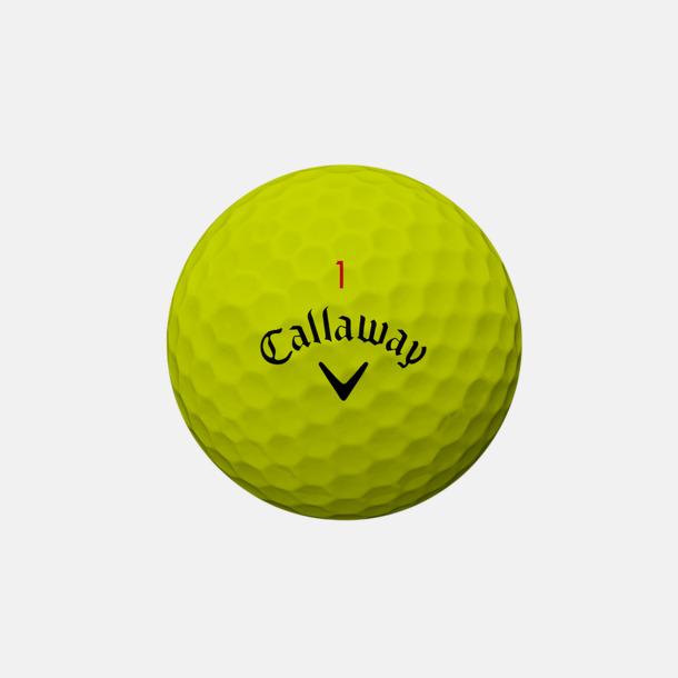 Gul Innovativa golfbollar från Callaway