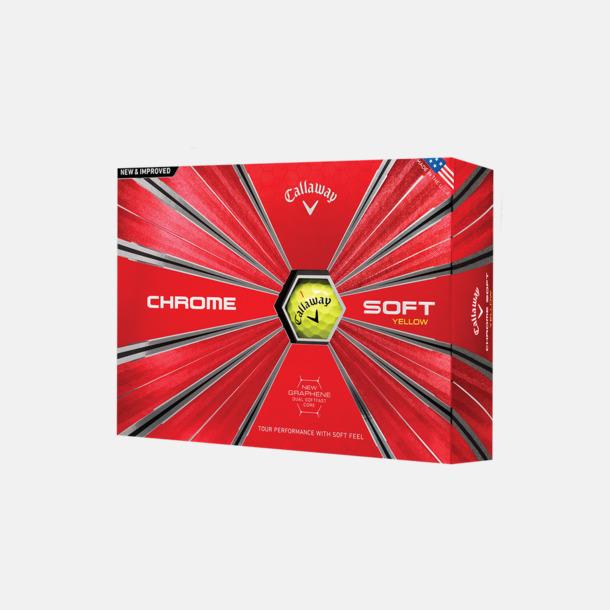 Kartong (gula bollar) Innovativa golfbollar från Callaway
