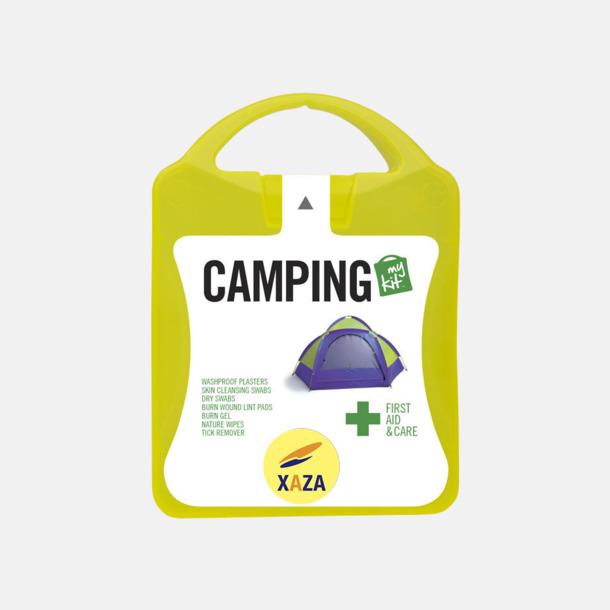 Med reklamlogo Första hjälpen-kit för camparen - med reklamtryck