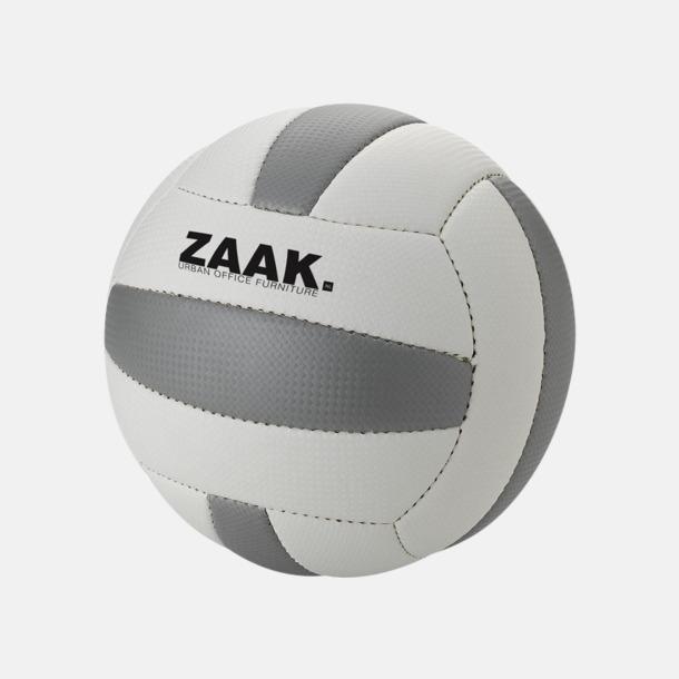 Med reklamlogo (ljus panel) Volleybollar med reklamtryck