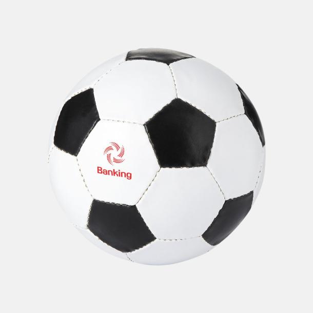 Med reklamlogo Klassiska fotbollar i många färger med reklamtryck