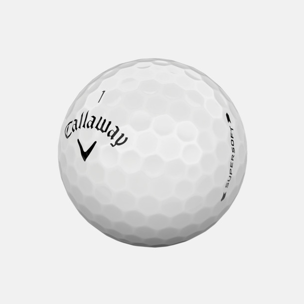 Vit (blank) De mjukaste bollarna från Callaway