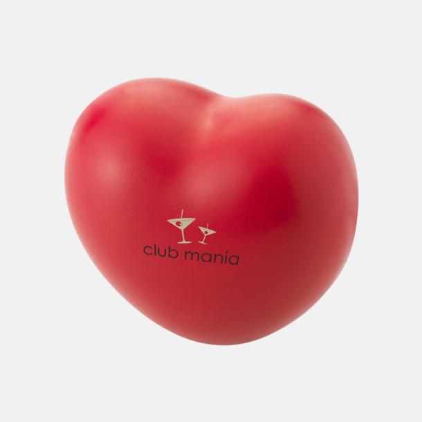 Med reklamlogo Hjärtformad stressboll med eget tryck