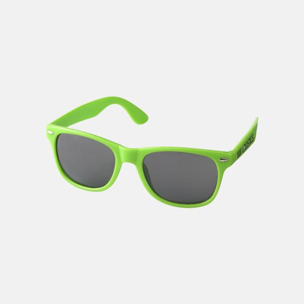 Med reklamlogo Trendiga solglasögon med tryck