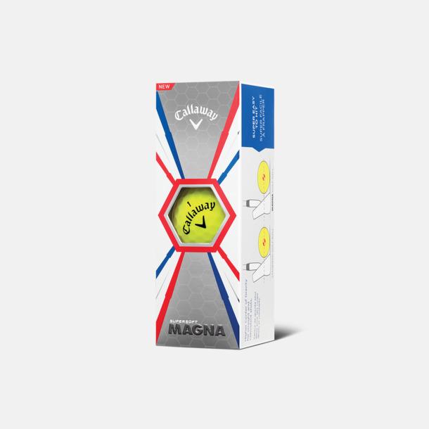 Ask (gula bollar) Logobollar från Callaway med eget reklamtryck