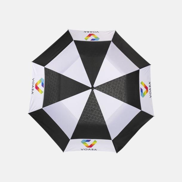 Med reklamlogo Slazenger paraplyer med reklamtryck