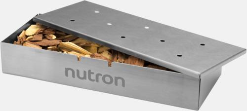 Med reklamlogo Röklådor för grillen med reklamlogo