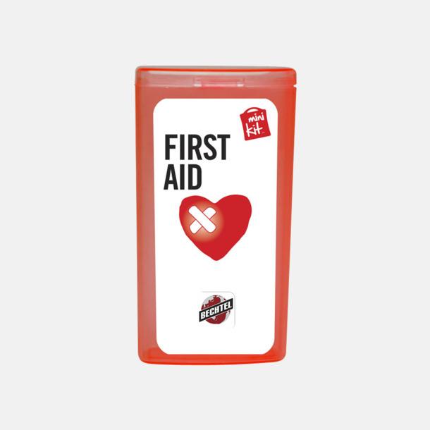 Med reklamlogo Mini första hjälpen-kit med reklamtryck