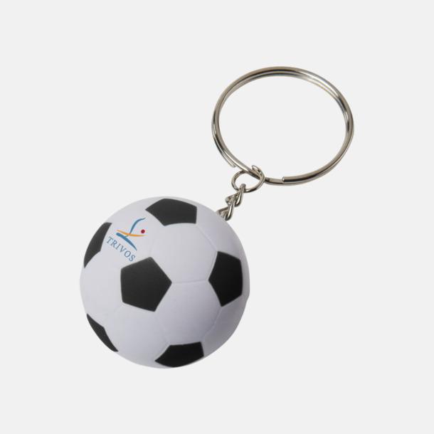 Med reklamlogo Fotbollsnyckelringar med reklamtryck