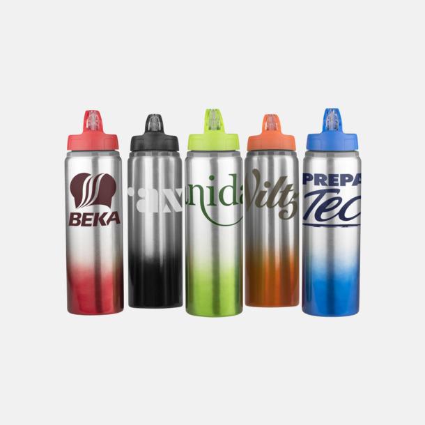 Med reklamlogo Nyansskiftande vattenflaskor med reklamtryck