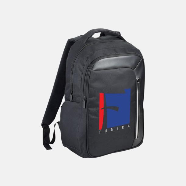 Med reklamlogo Laptopryggsäckar med RFID-blockeringsteknik - med reklamtryck
