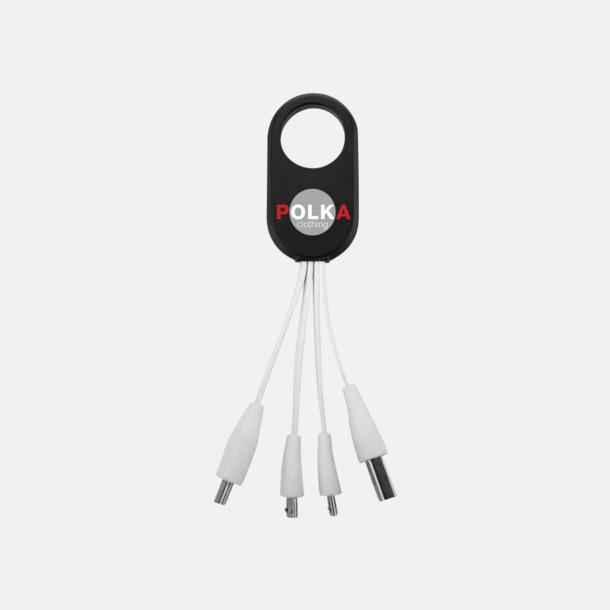 Med reklamlogo USB-laddningskablar med reklamtryck