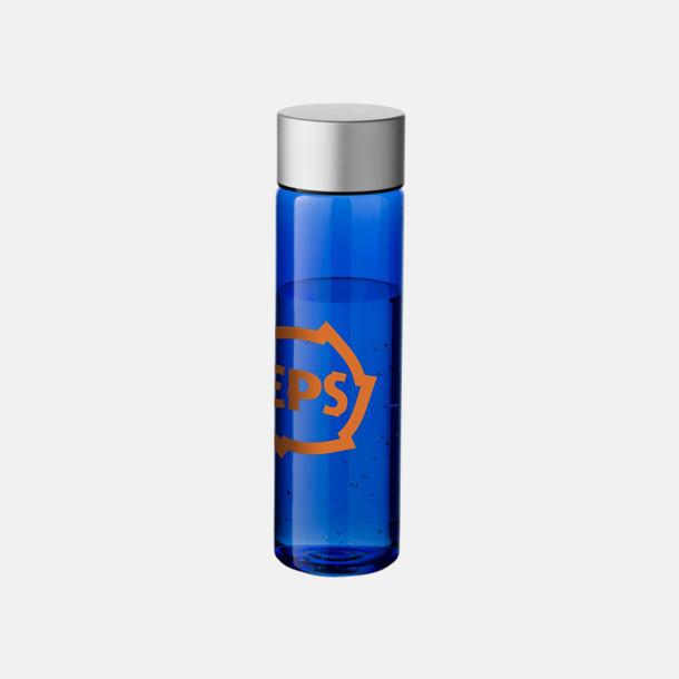 Med reklamlogo Cylinderformade vattenflaskor med reklamtryck