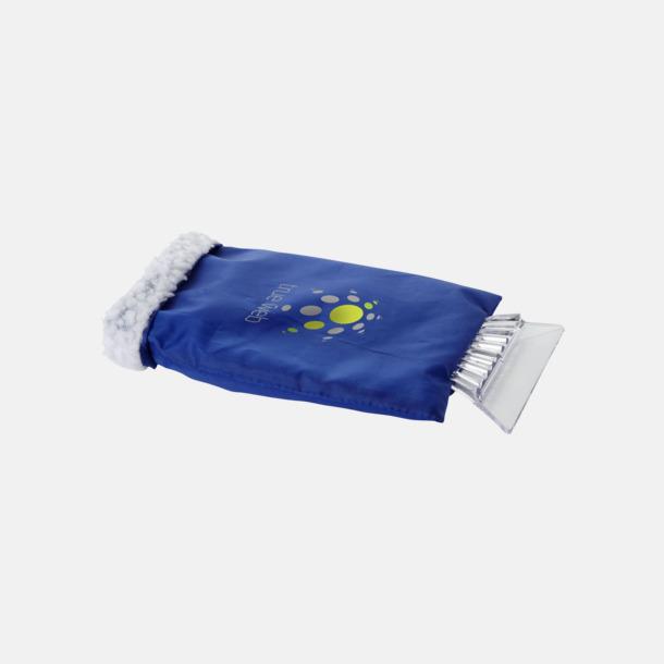 Med reklamlogo Billiga isskrapor med handskar med reklamtryck
