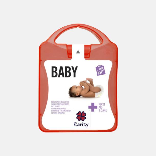 Med reklamlogo Kit för nyblivna föräldrar - med reklamtryck
