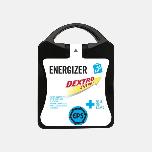 Med reklamlogo Energifyllt första hjälpen-kit med reklamtryck