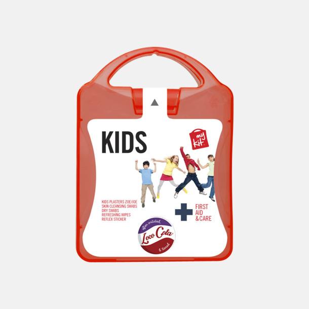 Med reklamlogo Första hjälpen kit för barn - med reklamtryck