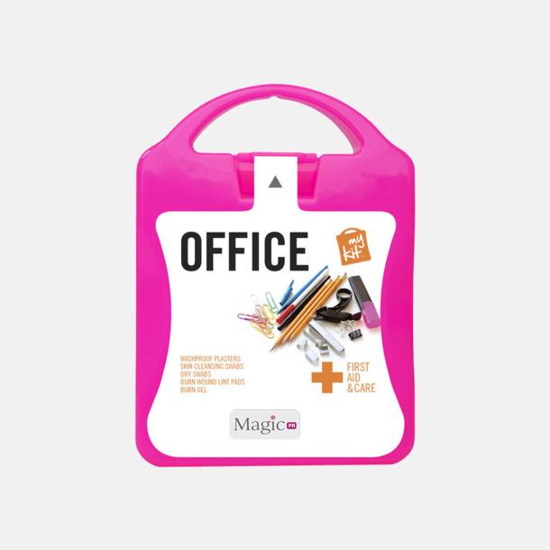 Med reklamlogo Första hjälpen kit på kontoret - med reklamtryck