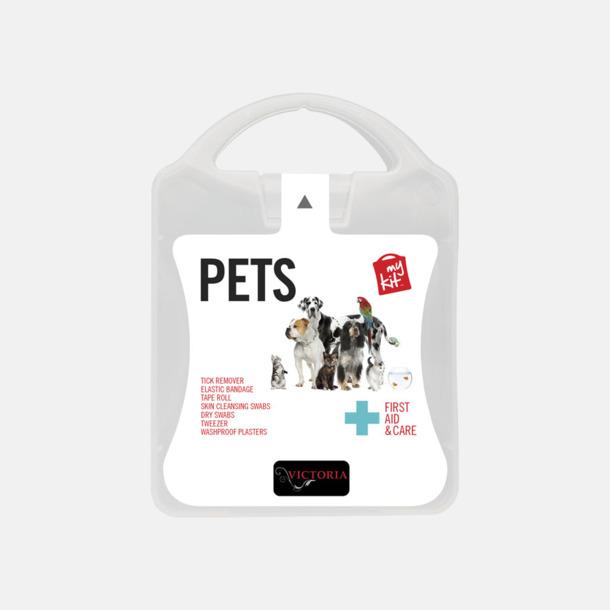 Med reklamlogo Första hjälpen kit for husdjursägare - med reklamtryck