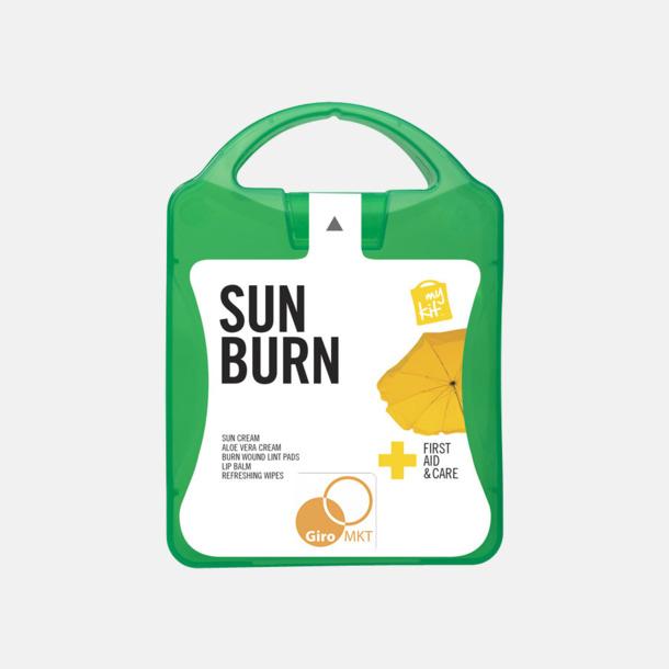 Med reklamlogo Solskydds-kit med reklamtryck