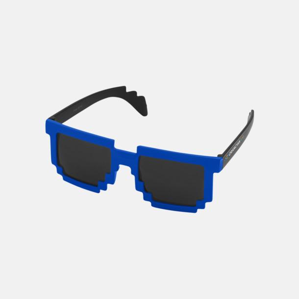 Med reklamlogo Pixelinspirerade solglasögon med reklamtryck