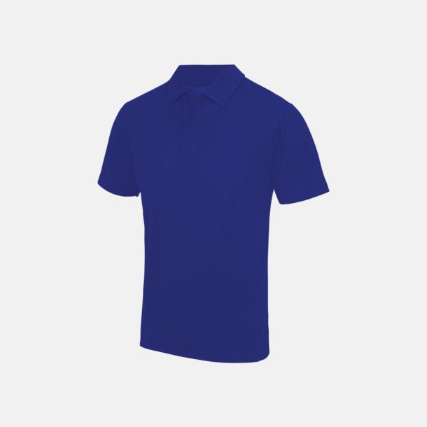 Reflex Blue Färgglada pikétröjor med reklamtryck