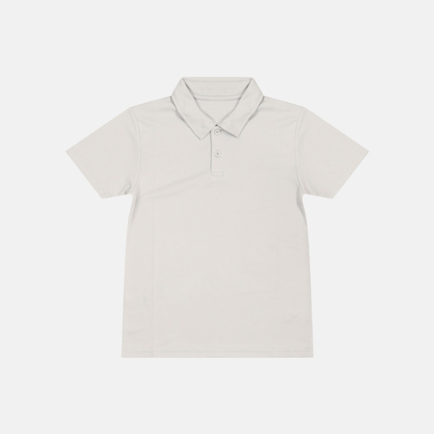 Heather grey (solid) Barnpikétröjor i många färger - med reklamtryck