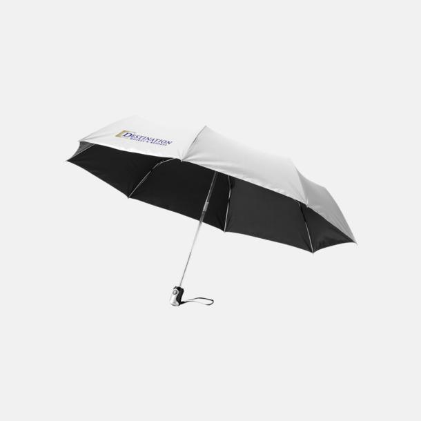Med reklamlogo Kompakta paraplyer med eget reklamtryck