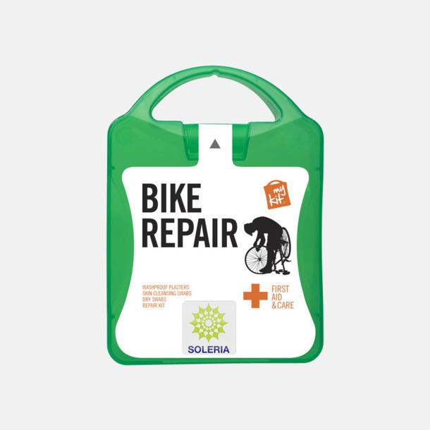 Med reklamlogo För skador på dig eller cykeln - med reklamtryck