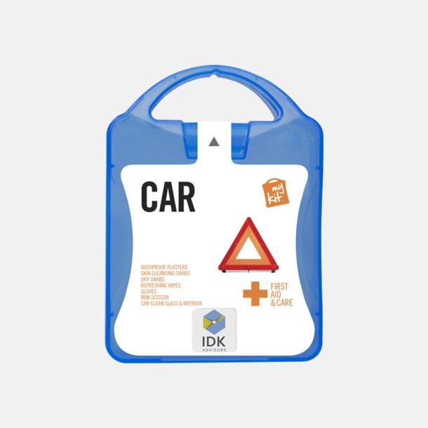 Med reklamlogo Första hjälpen-kit att ha i bilen - med reklamtryck