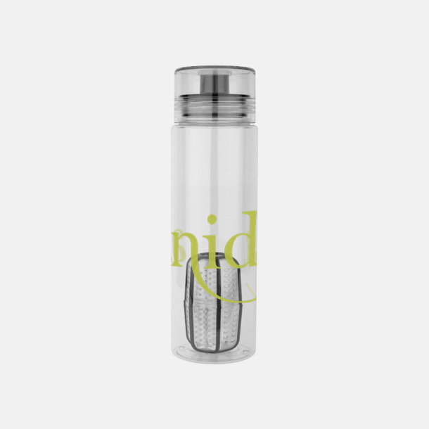 Med reklamlogo Vattenflaskor med behållare - med reklamtryck
