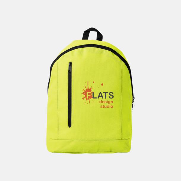 Med reklamlogo Läckra, billiga ryggsäckar med reklamtryck