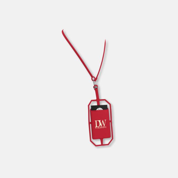 Med reklamlogo Silikonkortfickor med RFID-skydd med reklamtryck