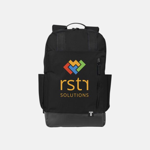 """Med reklamlogo 15,6"""" datorryggsäck från Tranzip med reklamtryck"""