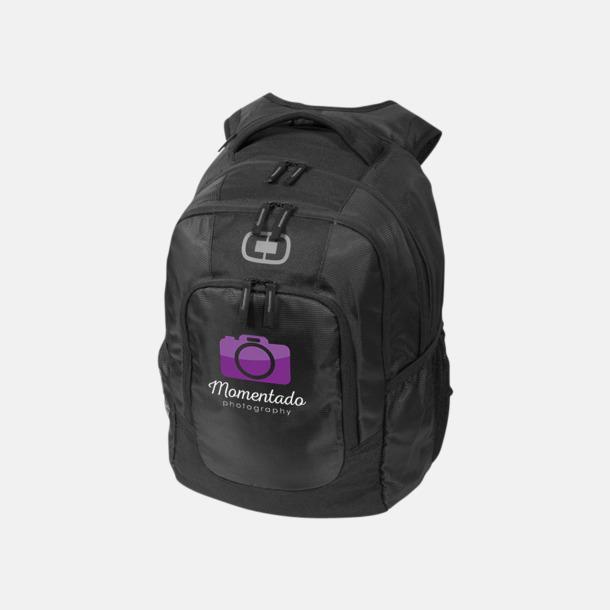 """Med reklamlogo 15,6"""" datorryggsäckar med reklamtryck"""