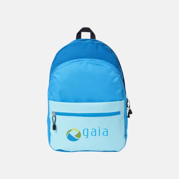 Med reklamlogo Nyanserade ryggsäckar med reklamtryck