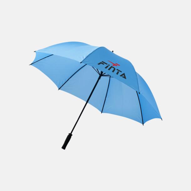 """Med reklamlogo 30""""-stormparaplyer med reklamtryck"""