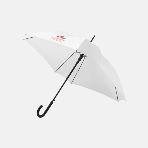 Med reklamlogo Billiga paraplyer i fyrkantig form - med reklamtryck