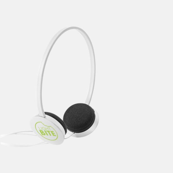 Med reklamlogo On-ear hörlurar i många färger - med tryck