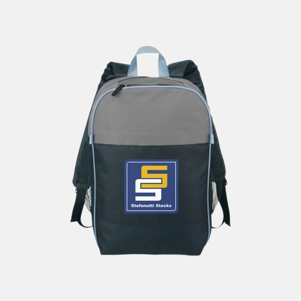 Med reklamlogo Prisvärda laptopryggsäckar med reklamtryck
