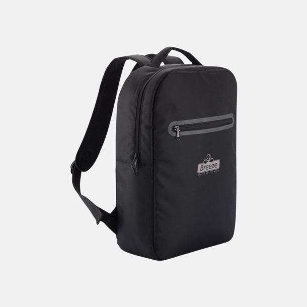 Med reklamlogo Stilrena, PVC-frita laptopryggsäckar med reklamtryck