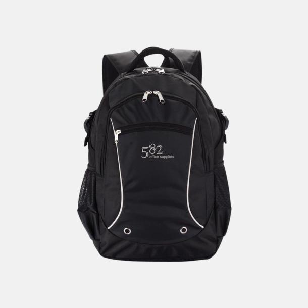 Med reklamlogo Sportiga laptopryggsäckar i PVC-fritt material med reklamtryck