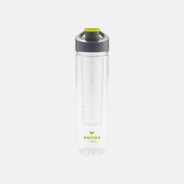 BPA-fria vattenflaskor med fruktbehållare med reklamtryck